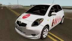 Toyota Yaris Coca-Cola 2008 para GTA San Andreas