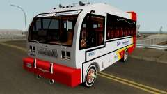 Buseton International 4500 para GTA San Andreas