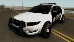 Ford Taurus Sheriff (Interceptor style) 2012 para GTA San Andreas