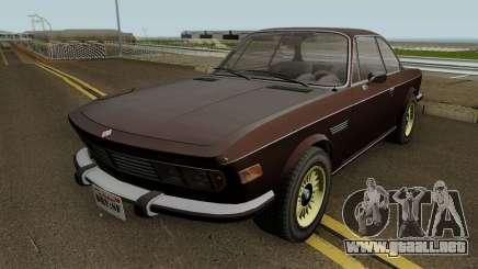 Ubermacht Zion Classic GTA V IVF para GTA San Andreas