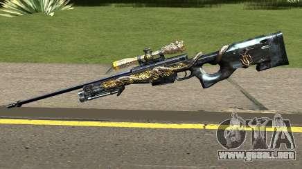 AWM Infernal Dragon para GTA San Andreas