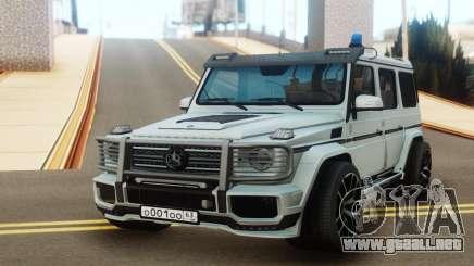 Mercedes-Benz G65 AMG Tuning para GTA San Andreas