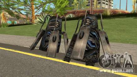 Galvatron Weapon para GTA San Andreas