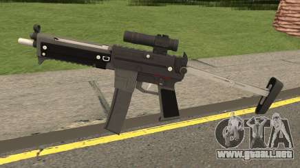 MP5 From SZGH para GTA San Andreas