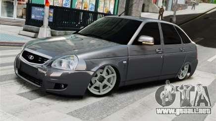 Lada Priora Grey para GTA 4