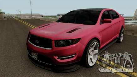 Ford Taurus (Interceptor style) 2012 para GTA San Andreas