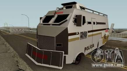 Blindado Choque PMMG Grande para GTA San Andreas