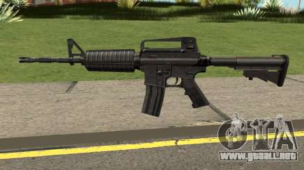 M4A1 Black High Quality para GTA San Andreas