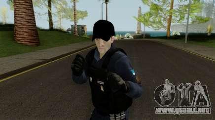Brazilian Police Skin 1 para GTA San Andreas