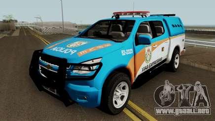 Chevrolet S10 PMERJ BPVE para GTA San Andreas
