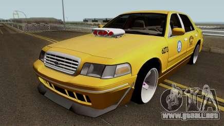 Ford Crown Victoria New York Taxi (Taxi Movie) para GTA San Andreas
