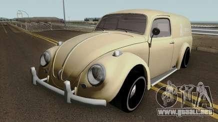 Volkswagen Beetle Van para GTA San Andreas