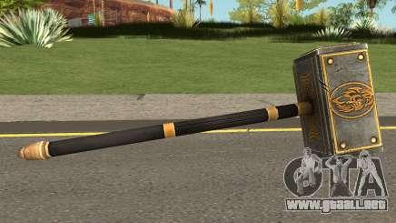 Triple H Sledgehammer from WWE Immortals para GTA San Andreas