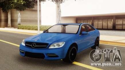 Mercedes-Benz C200 w204 AMG-Line para GTA San Andreas