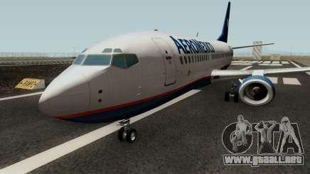 Boeing 737-300 Aeromexico para GTA San Andreas