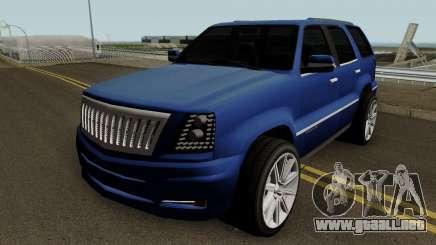 Cadillac Escalade ESV AWD 6.0L V8 2006 v1 para GTA San Andreas