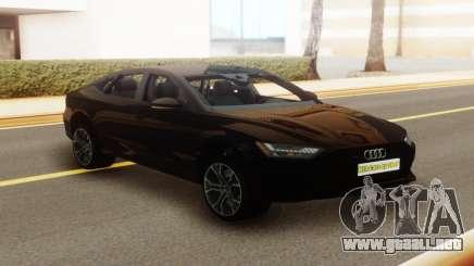 Audi A7 2018 Stock para GTA San Andreas