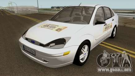 Ford Focus (Bonjour Bar Delivery Food) 2004 para GTA San Andreas