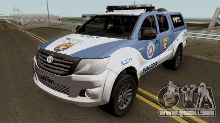 Toyota Hilux 2015 PETO CIPM POJUCA para GTA San Andreas