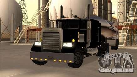 Realistic Petro Tanker para GTA San Andreas