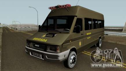 Iveco Turbo Daily Police para GTA San Andreas