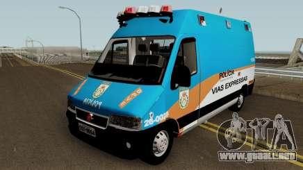 Fiat Ducato PMERJ BPVE para GTA San Andreas