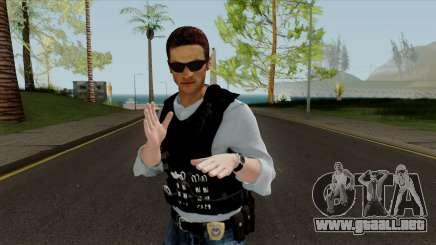 New Police Skin para GTA San Andreas