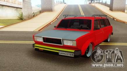Vaz 2104 Vishnya para GTA San Andreas