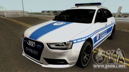 Audi A4 Avant Serbian Police para GTA San Andreas