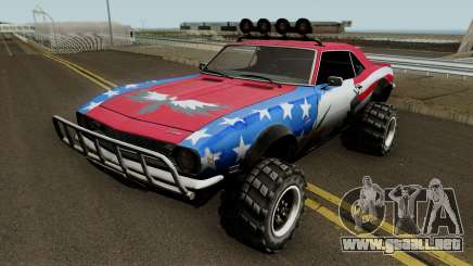 Chevrolet Camaro Z28 Off Road 1968 para GTA San Andreas
