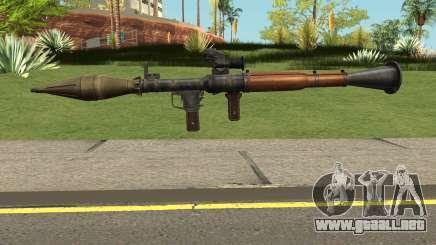 CSO2 RPG-7 para GTA San Andreas