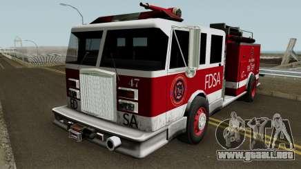 Firetruck Remastered para GTA San Andreas
