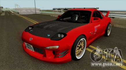 Mazda RX-7 FD3s Touge Warrior Red Brother para GTA San Andreas