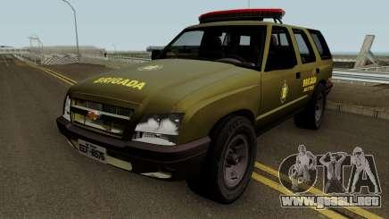Chevrolet Blazer 2010 Brazilian Police para GTA San Andreas