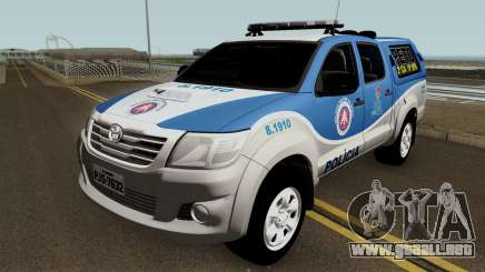 Toyota Hilux PETO CIA Jequie para GTA San Andreas