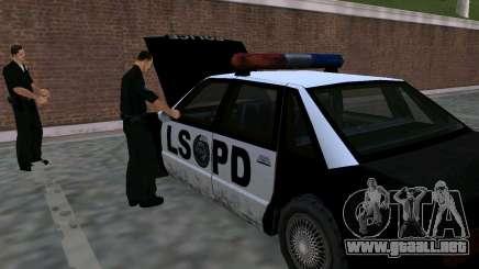 El renacimiento de la estación de policía de LSPD para GTA San Andreas