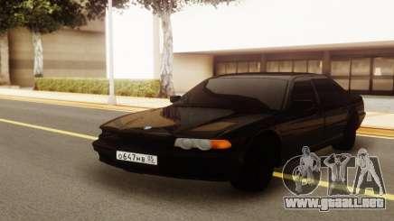 BMW E38 750i para GTA San Andreas