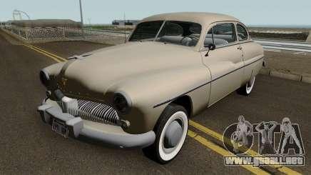 Mercury Eight Coupe (9CM-72) 1949 para GTA San Andreas