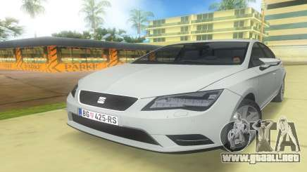 2013 Seat Leon Fr para GTA Vice City