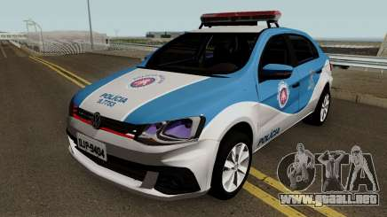 Volkswagen Voyage G7 2017 PMBA para GTA San Andreas