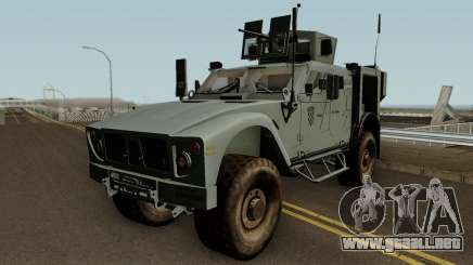 M-ATV Croatian Army para GTA San Andreas
