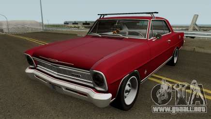 Chevrolet Nova II SS 1966 para GTA San Andreas