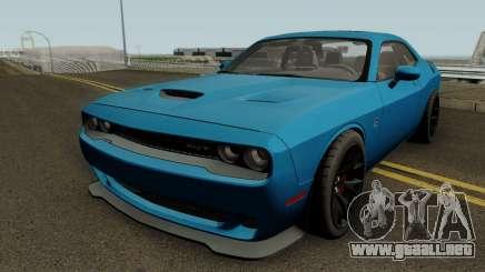 Dodge Challenger SRT Hellcat 2015 HQ para GTA San Andreas
