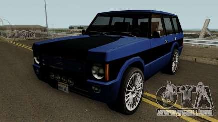 Huntley Custom para GTA San Andreas