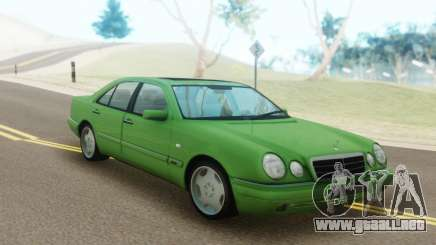 Mercedes-Benz E55 W210 Green para GTA San Andreas