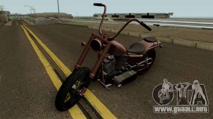 Western Motorcycle Daemon GTA V HQ para GTA San Andreas