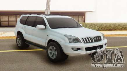 Toyota Land Cruiser Prado 120 White para GTA San Andreas