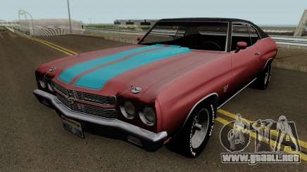 Chevrolet Chevelle SS Normal 1970 para GTA San Andreas