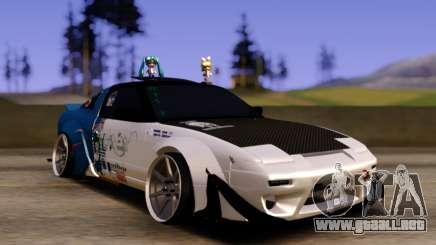 Nissan 180SX Tuned para GTA San Andreas