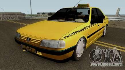 Peugeot 405 GLX Taxi Final para GTA San Andreas